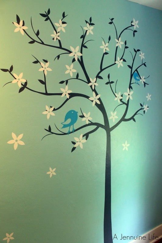 Nursery Prep Tree Wall Art & Nursery Prep: Tree Wall Art - A Jennuine Life