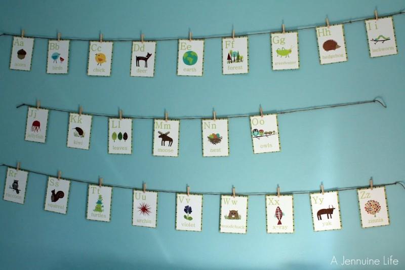 Nursery Prep: Alphabet Wall Art Part 73