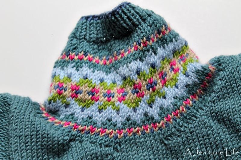 Knitting: Fair Isle Cardigan for Baby - A Jennuine Life
