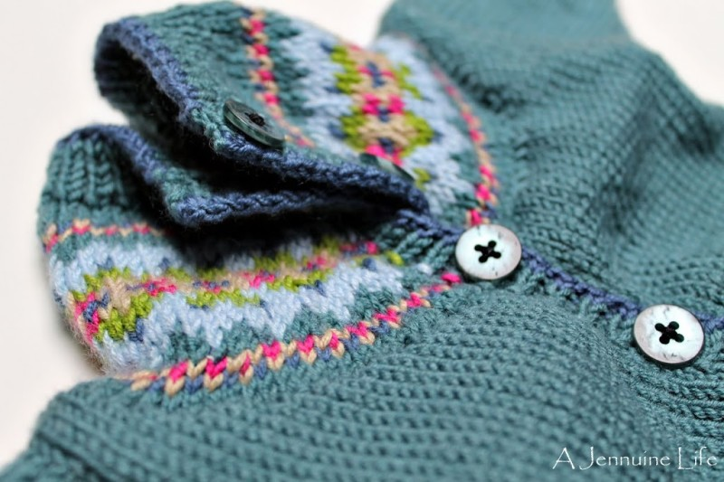 Fair Isle Baby Sweater Pattern - Baggage Clothing