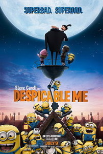 Despicable Me Movie Graphic