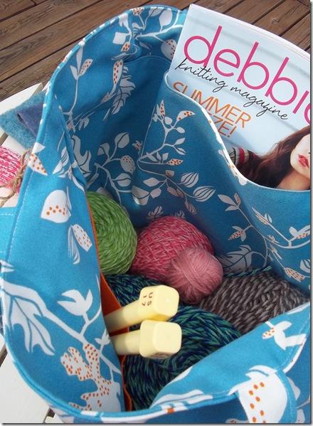 Crochet Knitting Bag : Crochet/Knitting Bag - A Jennuine Life