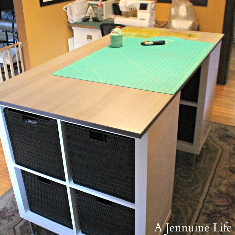 Diy Craft Room Table: DIY Counter Height Craft Table