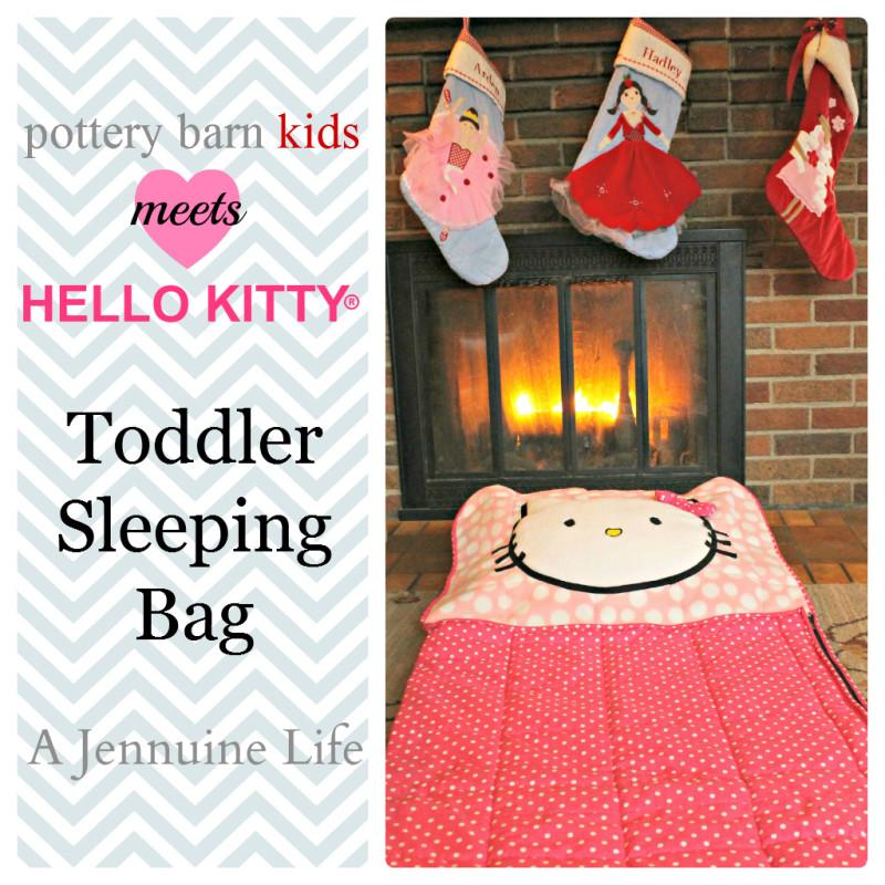 Pottery Barn Hello Kitty Knockoff Toddler Sleeping Bag Title