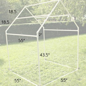 PVC Frame Dimensions