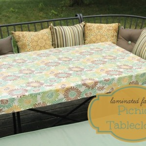 Picnic Tablecloth Title