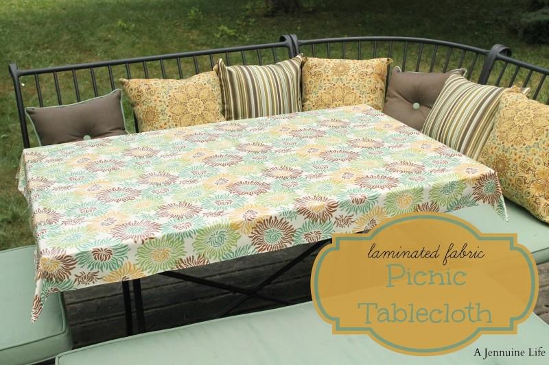 Delightful Picnic Tablecloth Title