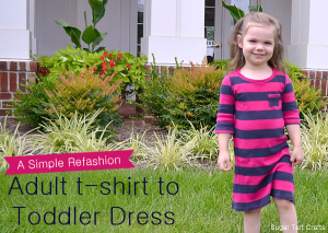 Diy tshirt dress tutorial