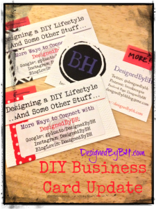 DIY Business Card Update - Final Final