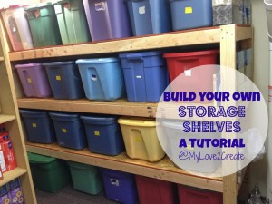 MyLove2Create, Storage Shelves
