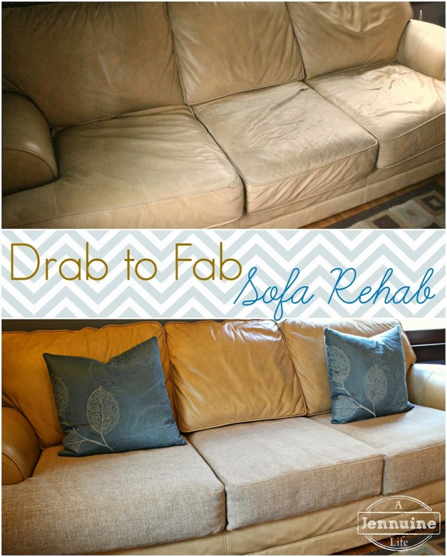 Tutorial: DIY Upholstery Sofa Rehab