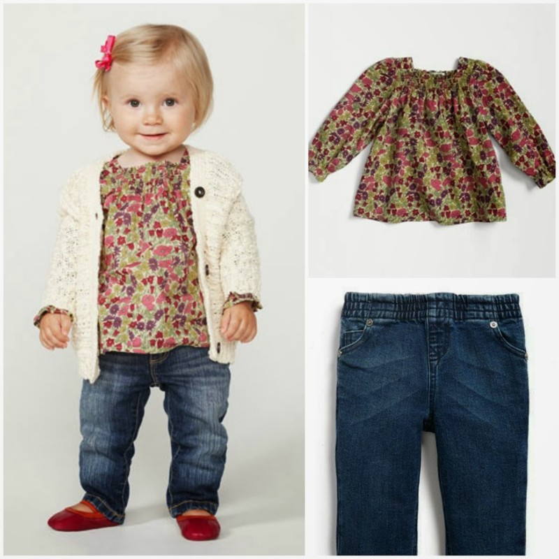 Sew This Look Baby Girl Peasant Casual - A Jennuine Life
