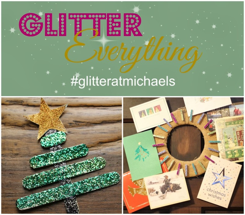 Glitter Everything with Michaels Recollections Glitter - A ...