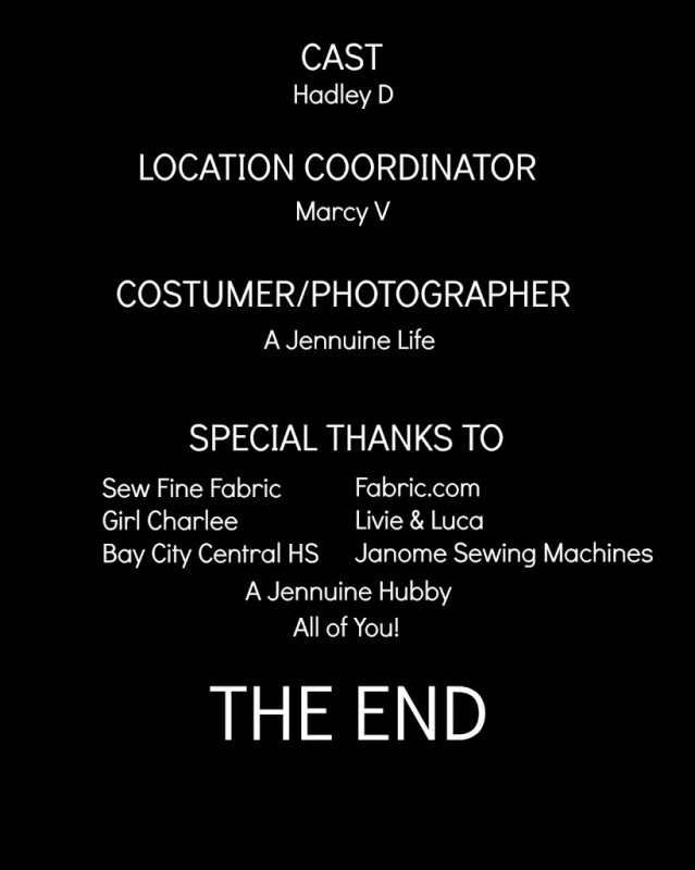 how to say thank you in credits