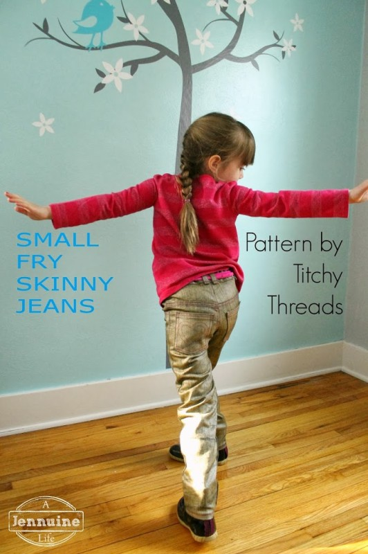 Golden Small Fry Skinny Jeans