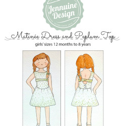 Matinee Dress and Peplum Top Watercolor