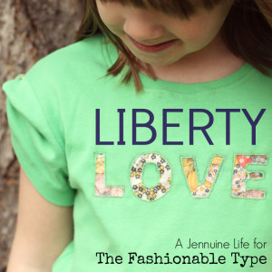 Liberty Love typography tee