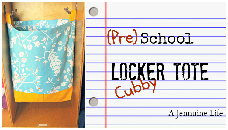 Back To School Easy DIY Locker Tote A Jennuine Life - Cute diy school locker ideas