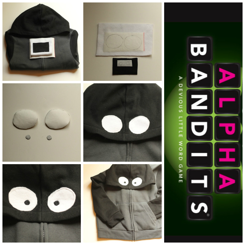 Alpha Bandits Hoodie Collage