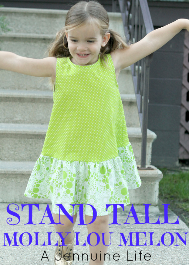 Stand Tall Molly Lou Melon for Sew Many Books