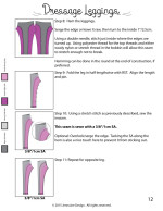 Dressage Leggings Tutorial Final12