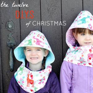 Twelve DIYs of Christmas for Michael Miller Fabrics
