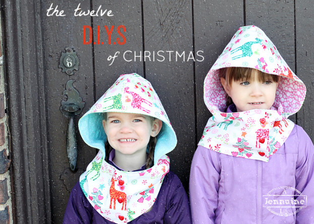 Twelve DIYs of Christmas for Michael Miller Fabrics
