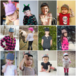 Sweet Pea Cap Tester Collage