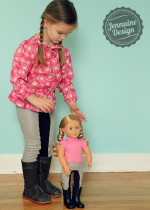 Doll Dressage Leggings 1