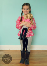 Doll Dressage Leggings 3