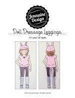 Doll Dressage Leggings Tutorial Final