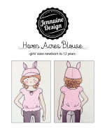 Haven Acres Blouse by Jennuine Design