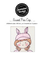 Sweet Pea Cap by Jennuine Design