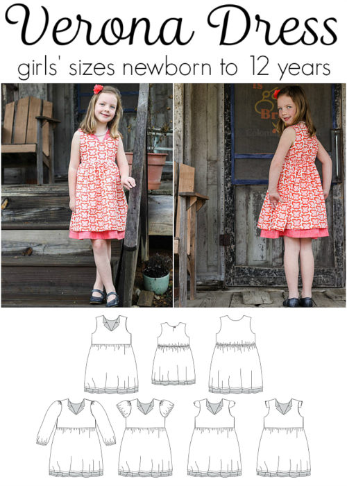 Jennuine Design Verona Dress girls' sizes newborn to 12 years