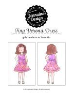 Verona Dress Newborn Tutorial
