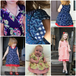 Verona Dress pattern by Jennuine Design