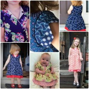 Verona Dress pattern by Jennuine Design