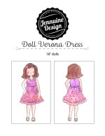 "Doll Verona Dress Jennuine Design 18"" Dolls"