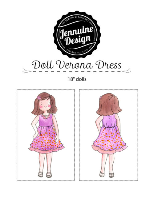 "Doll Verona Dress Jennuine Design 18"" Dolls"