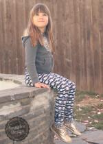 JD Ruched Dressage Leggings 4