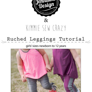 ruched leggings free add-on to Dressage Leggings by Jennuine Design