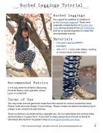 Ruched Leggings Tutorial Jennuine Design2