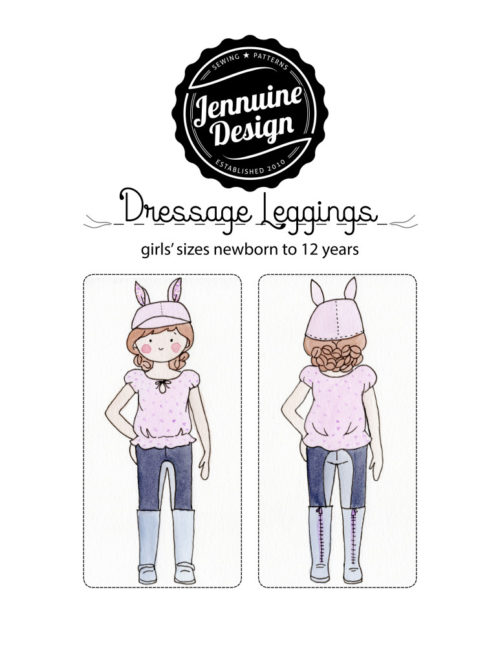Jennuine Design Dressage Leggings for newborn to 12 years