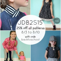 Back to School in Style - 25% off 8/3 to 8/10