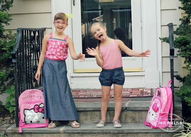 First Day of school outtake