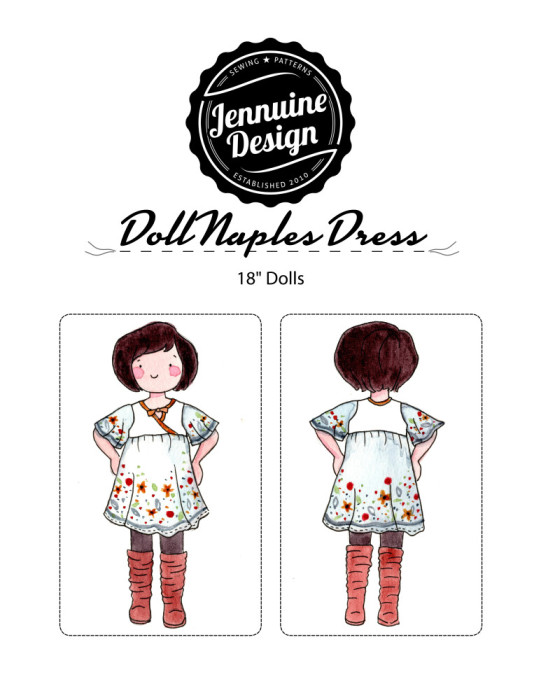 Doll Naples Dress Tutorial
