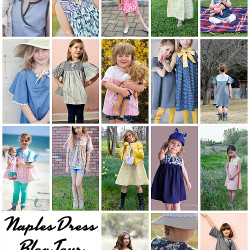 Naples Dress Blog Tour Final Collage