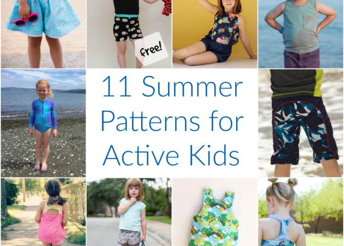 11 summer sewing patterns for active kids