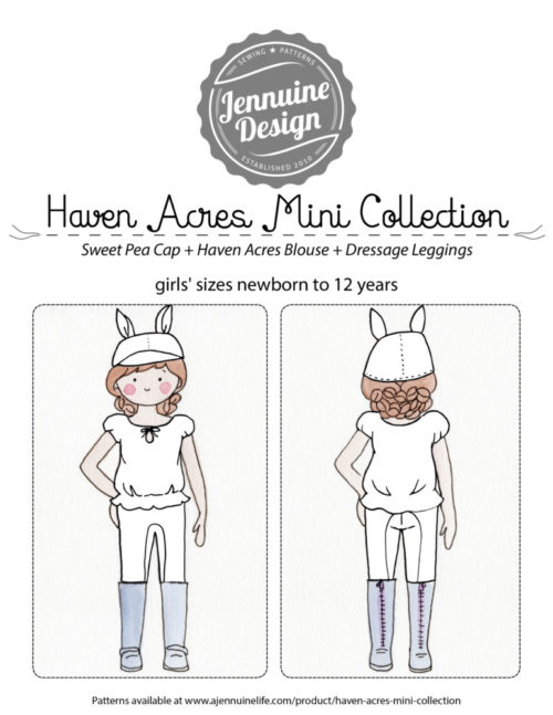Haven Acres Mini Collection Coloring Page Cover