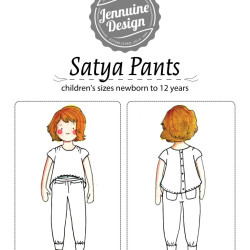 Satya Pants Coloring Page Cover
